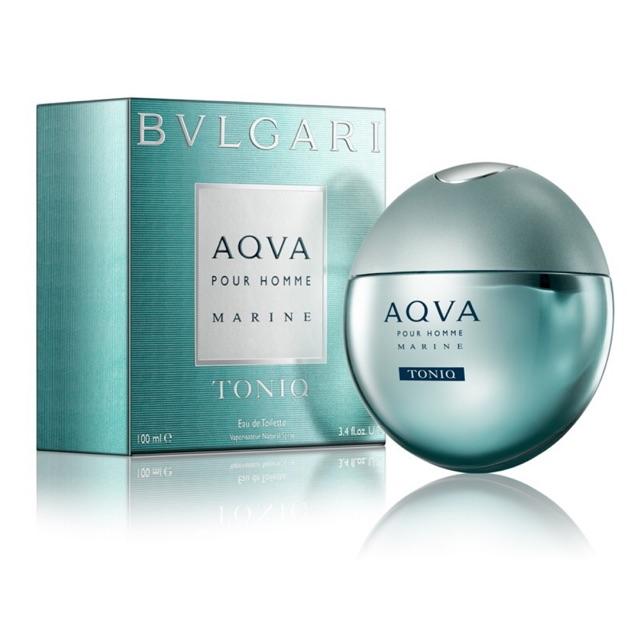 BVLGARI AQVA Pour Homme MARINE 100ml ของแท้100% พร้อมกล่องชีล