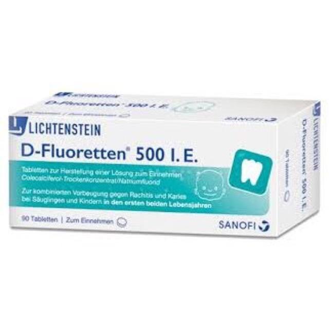 Vitamin d 500l.e