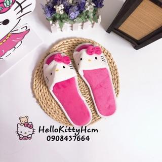 Dép lông Hello Kitty