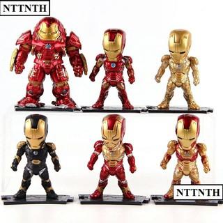 com bo bộ 6 mô hình nhân vật Avengers age of ULTRON Iron Man Iron Man phim The Avengers siêu hot hàng đẹp nét
