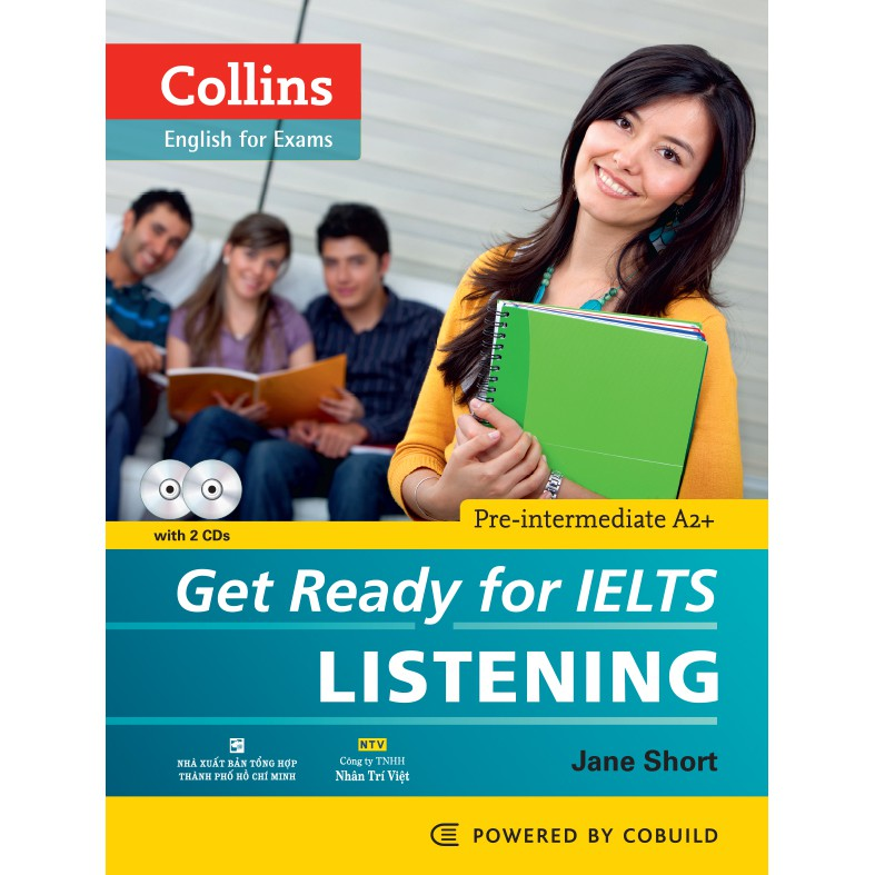 Collins Get Ready for IELTS Listening (kèm CD) - 3416100 , 976041819 , 322_976041819 , 168000 , Collins-Get-Ready-for-IELTS-Listening-kem-CD-322_976041819 , shopee.vn , Collins Get Ready for IELTS Listening (kèm CD)