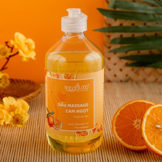 Dầu massage body hương cam ngọt 100% từ thiên nhiên - An toàn, hiệu quả thumbnail