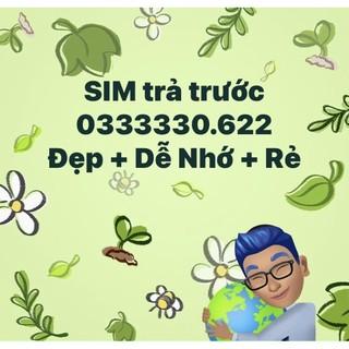 SIM Viettel 0333330.622