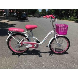 Xe đạp trẻ em Thống Nhất NEO 03 20 inch cho bé gái 6 7 8 9 10 tuổi thumbnail
