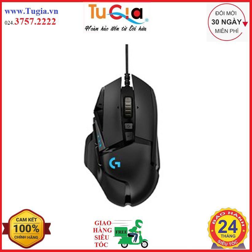 [Mã SKAMPUSHA7 giảm 8% đơn 250k]Chuột Logitech G502 HERO High Performance Gaming Mouse - Hàng chính hãng