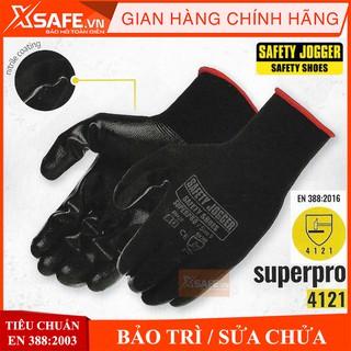 Găng tay bảo hộ lao động Jogger Superpro – Bao tay lao động chống dầu nhớt, trơn trượt, độ linh hoạt cao – Chính hãng