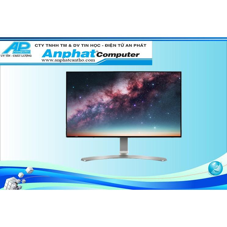Màn hình máy tính LG IPS 24'' Full HD Thiết kế không viền 4 cạnh Loa 5W 24MP88HV-S - Hàng chính hãng - Bảo hành 24 tháng