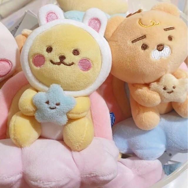 [Ryan Kakao friends] gấu bông rian mây cầu vồng ôm sao