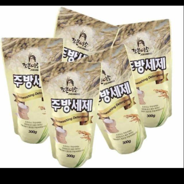 Combo 4 túi nước rửa chén tinh chất gạo hàn quốc | Shopee Việt Nam