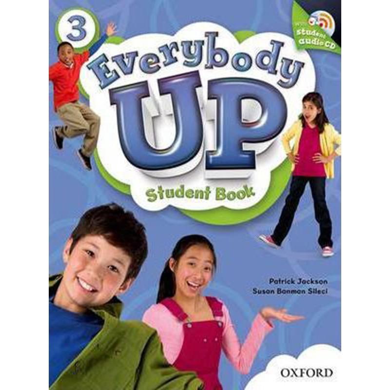 Sách học tiếng Anh Everybody Up 3 Student Book kèm CD luyện nghe
