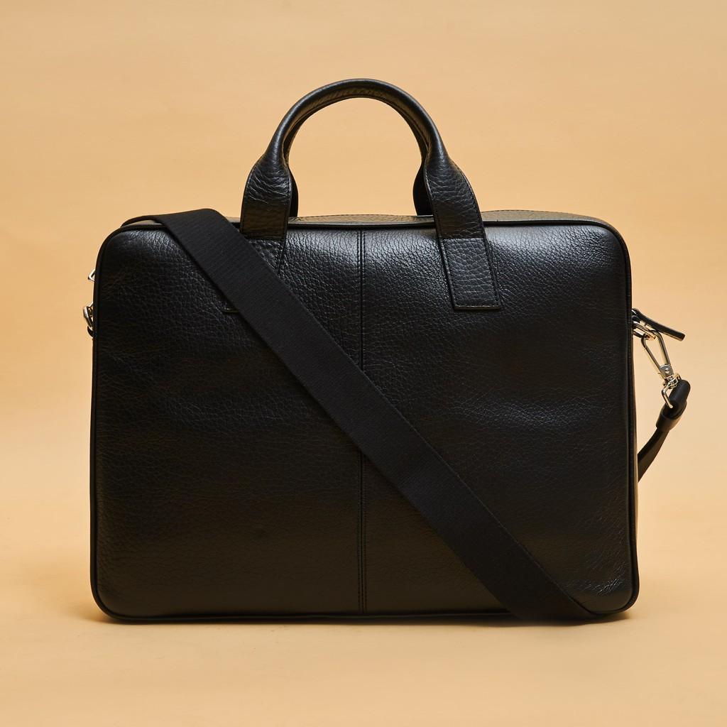 Túi công sở SHINKO (Đen) - Da thật nhập khẩu từ Ý - Dành cho Quý Ông Lịch Lãm - Chiều dài 1m05/1m10/1m20 - MC005-BL