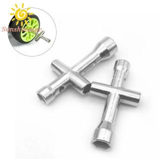 Cross Wrench For Wheel Nuts Quality Accessories Metal For HSP RC Car Model Equipment Spanner 4mm/5mm/5.5mm/7mm