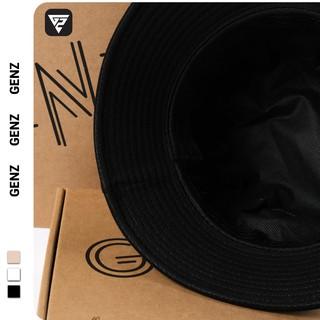 Hình ảnh [Mã FASHIONT4MA2 giảm 10K đơn 50K] Nón bucket tròn vành GENZ trơn nhiều màu phong cách Ulzzang Unisex ZA005-7