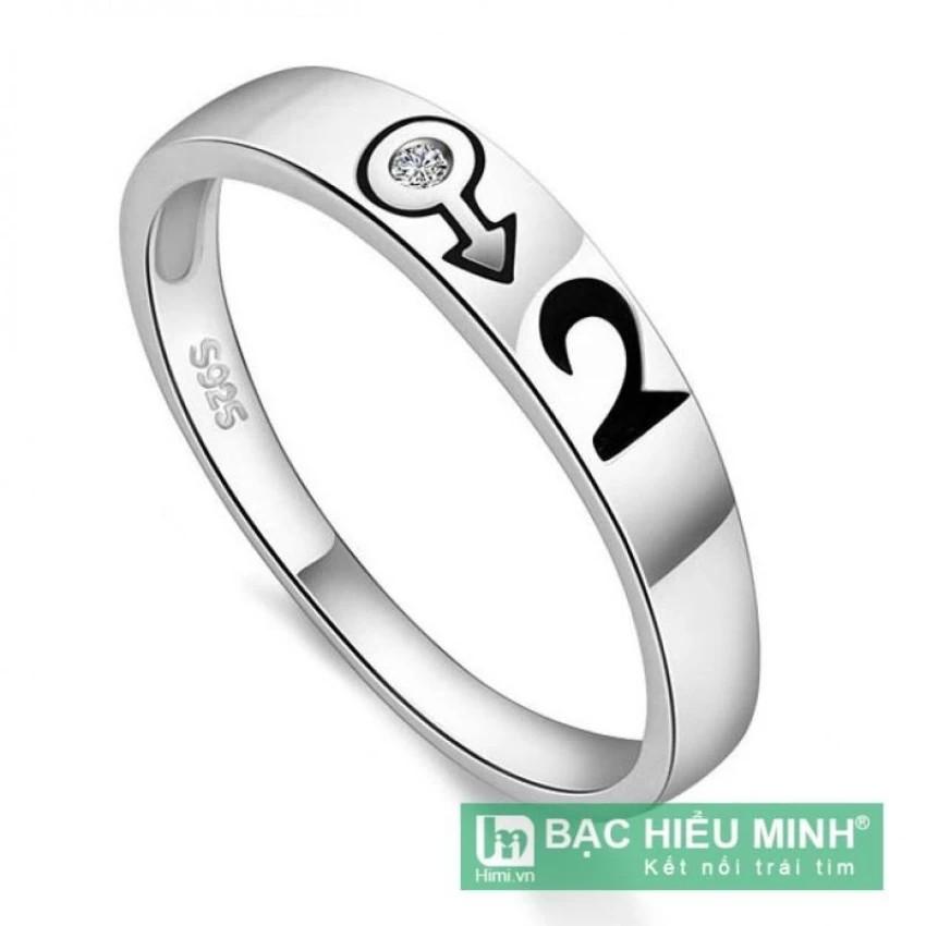 Nhẫn nữ Bạc Hiểu Minh nu265