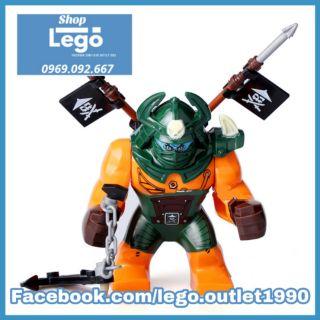 Xếp hình Ninjago Dogshark Master of Spinjitzu Lego Minifigures Xinh X0112 Xh247 thumbnail