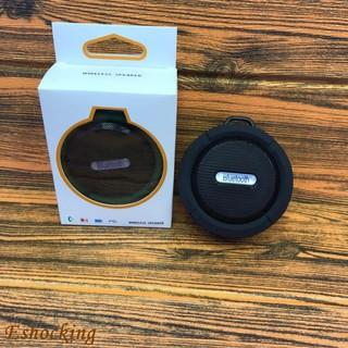 C6 waterproof sucker wireless Bluetooth audio card speaker outdoor portable spea
