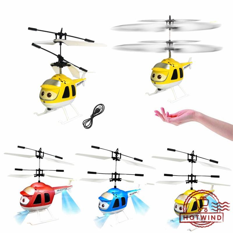 Máy bay trực thăng đồ chơi cảm biến hồng ngoại điều khiển từ xa có cáp sạc