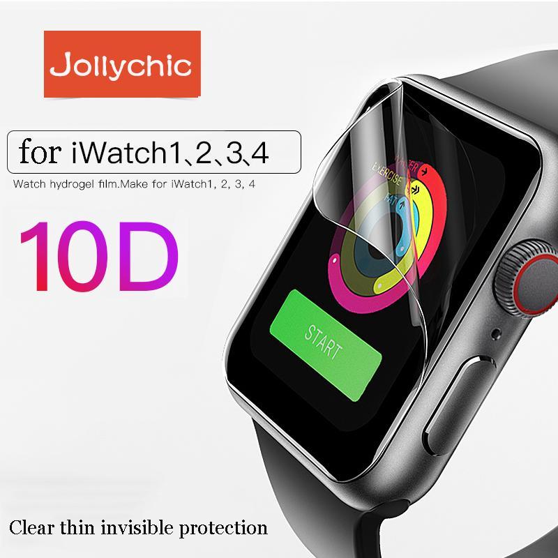 Set 1/2 miếng dán bảo vệ mặt đồng hồ dành cho Apple Watch 1 2 3 4 cỡ 38/40/42/44mm