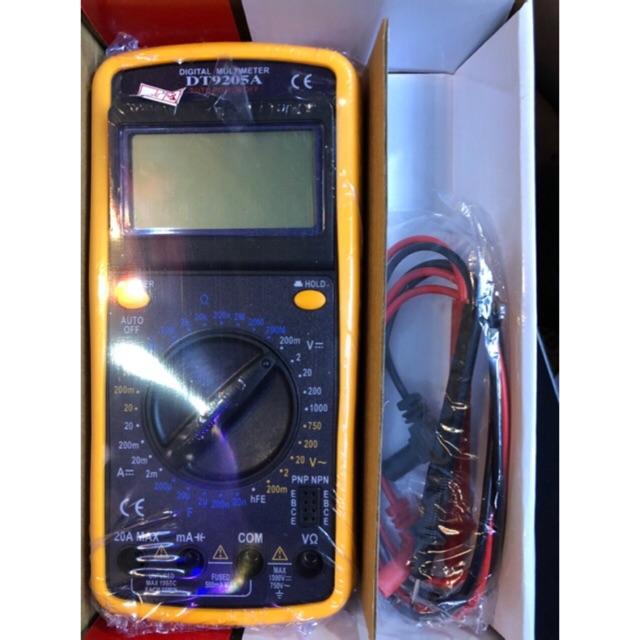 Đồng hồ đo vạn năng điện tử DT9205A - 3365439 , 851608668 , 322_851608668 , 170000 , Dong-ho-do-van-nang-dien-tu-DT9205A-322_851608668 , shopee.vn , Đồng hồ đo vạn năng điện tử DT9205A