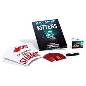 Bài Mèo Nổ Bản Mở Rộng Imploding Kittens Bản Đẹp Board game