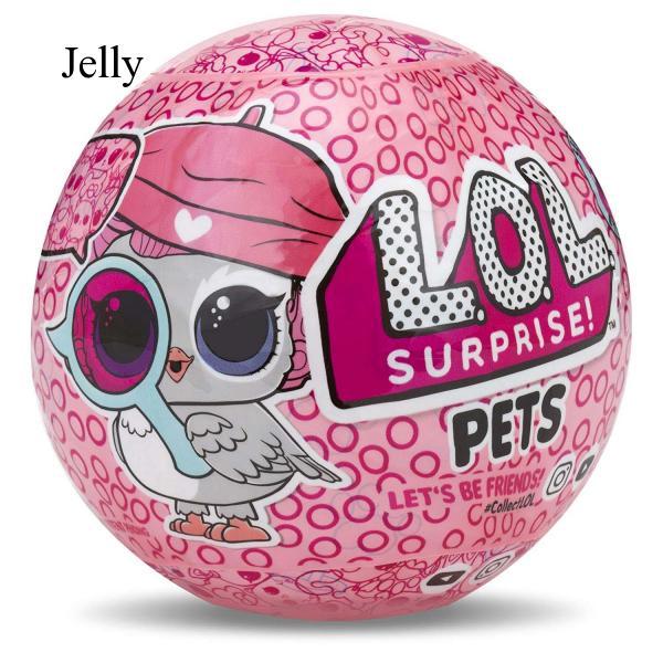 LOL Surprise Doll Removable Ball Pets Toys Light for Kids Children Random J326