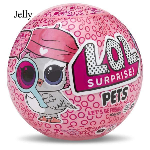 Quả bóng đồ chơi in chữ LOL có đèn vui nhộn cho bé