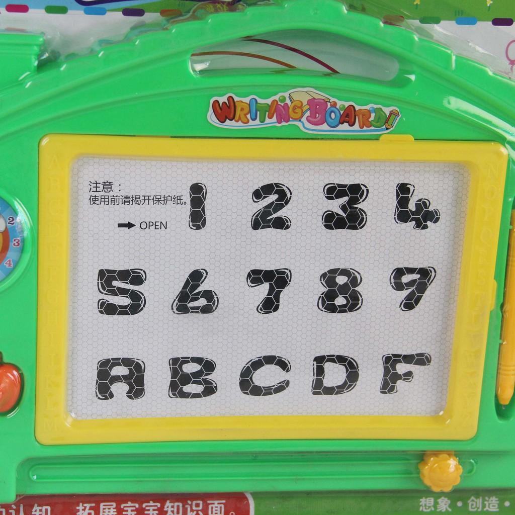 [Rẻ Nhất Shopee] - Bảng viết tự xóa cho bé yêu tập viết LCC- 3
