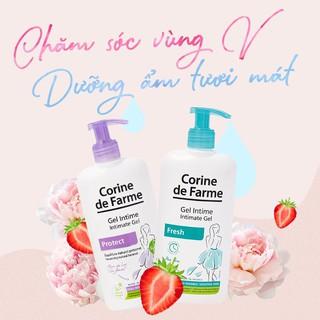 Gel vệ sinh phụ nữ Corine de Farme Intimate Gel Fresh 250ml Làm Sạch Và Khử Mùi Vùng Kín 7