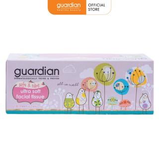 Giấy lau mặt khô Guardian không hương 150 tờ x 2 lớp