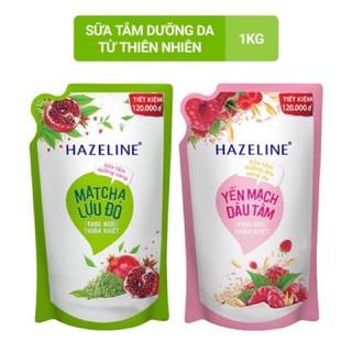 Túi sữa tắm Hazeline 1 kg (túi tiết kiệm) thumbnail