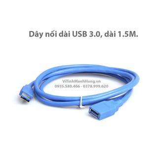 Dây nối dài USB 3.0, dài 1.5M.