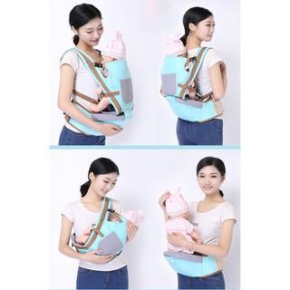 Đai địu ngồi Baby Lab nhiều tư thế thuận tiện cho mẹ, an toàn cho bé hàng cao cấp thumbnail
