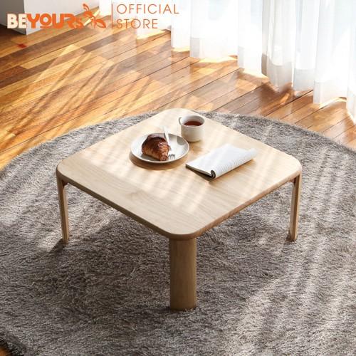 [Mã NOIT10BE9 giảm 10% đơn 200k] Bàn Trà Sofa BEYOURs C Table S Bằng Gỗ Gập Chân Hình Thang Nội Thất Kiểu Hàn