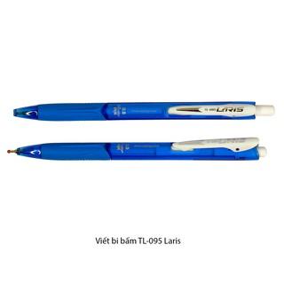 Viết bi bấm Thiên Long TL-095 Laris, xanh thumbnail