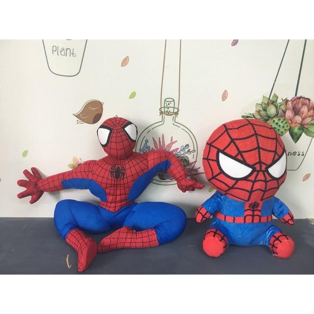 Gấu bông người nhện spiderman 30cm 140k/con