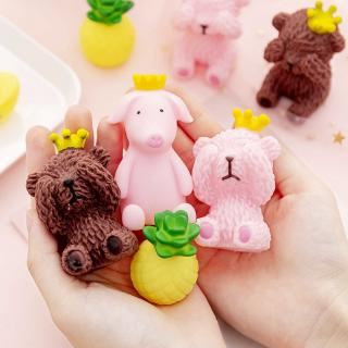đồ chơi squishy hình gấu dễ thương