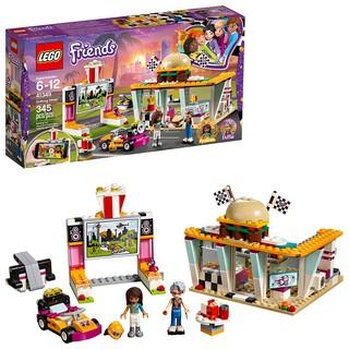 LEGO Friends 41349 (345 chi tiết) Cửa Tiệm Hamburger Tốc Độ – Đồ Chơi Xếp Hình LEGO Chính Hãng Đan Mạch