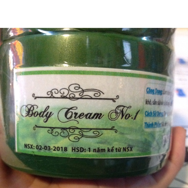 BODY CREAM NO.1