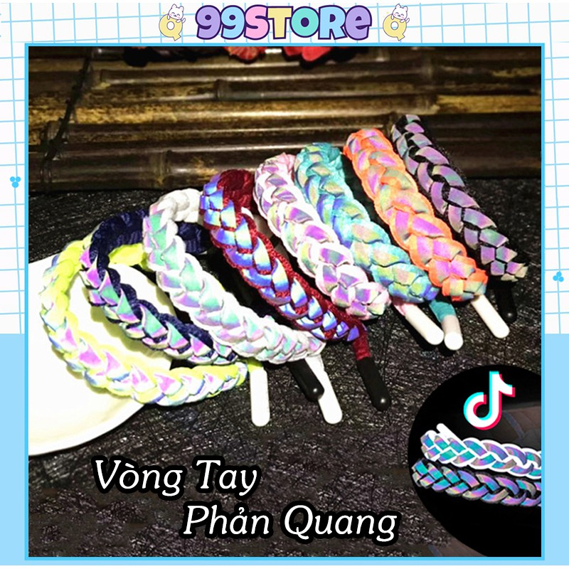 Vòng Tay Handmade Unisex Phản Quang
