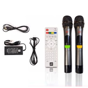 Loa kéo karaoke JBZ-NE-0806 / 1006 / 1206 (Loa 0806 Bass 20cm công suất 120w max 300w) tặng 2 Micro UHF- Kim loại