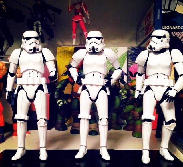 Mô hình starwars empire stormtrooper