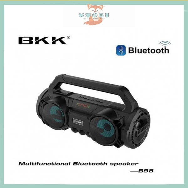 Loa Bluetooth Karaoke BKK  Tặng Kèm Mic - Loa Karaoke Đa Năng   KyuBi Shop