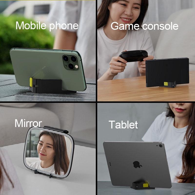 Giá đỡ điện thoại, máy tính bảng nhỏ gọn Baseus LV802-WP
