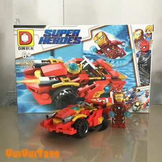 Minifigures Iron Man DLP533 – Đồ Chơi Lắp Ghép Xếp Hình Mô Hình Mini