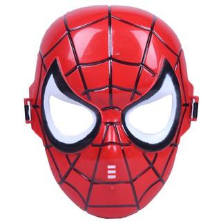 Mặt nạ trung thu người nhện Spider man có đèn phát sáng