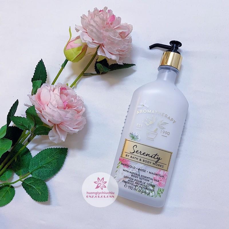 Sữa dưỡng thể tinh dầu thư giãn Bath and body works Aromatherapy