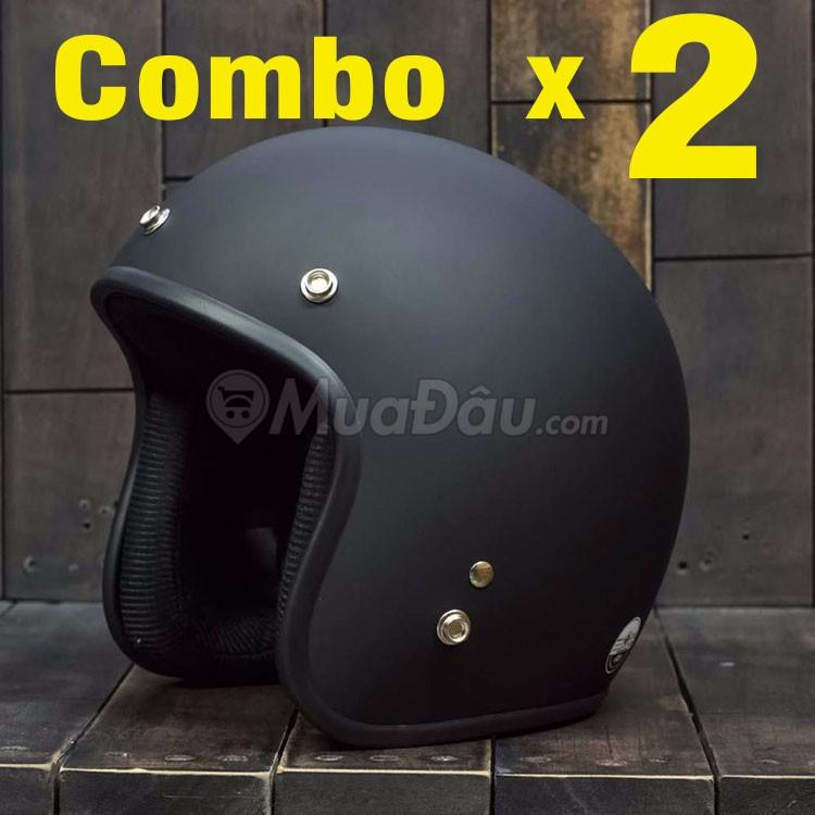 [COMBO] 2 nón bảo hiểm đi phượt đen nhám 3/4 đầu - 3169392 , 303648243 , 322_303648243 , 280000 , COMBO-2-non-bao-hiem-di-phuot-den-nham-3-4-dau-322_303648243 , shopee.vn , [COMBO] 2 nón bảo hiểm đi phượt đen nhám 3/4 đầu