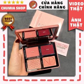 Má hồng, bắt sáng kem, phấn NATASHA Denona Bloom Blush Glow Palette Highlighting Palette - chumia thumbnail