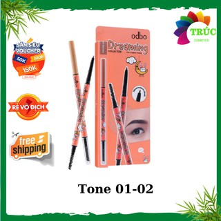 Chì Kẻ Mày Sắc Nét Odbo Dreaming Slim OD730-Trúc Cosmetics