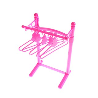 MT Doll Gift Pink Plastic Hangers For Clothing Dress Pop Accessories NY